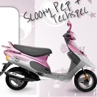 TVS Scooty Pep+ Right View