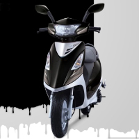 TVS Scooty Streak Different Colour View 1