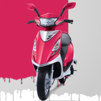 TVS Scooty Streak Different Colour View 2