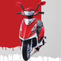 TVS Scooty Streak Different Colour View 3