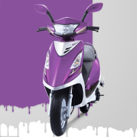 TVS Scooty Streak Different Colour View 4