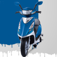 TVS Scooty Streak Different Colour View 5