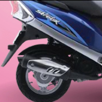 TVS Scooty Streak Silencer View