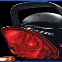 TVS Star Sport Back Light View