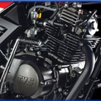 TVS Star Sport Engine View