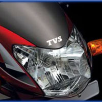 TVS Star Sport Head Light View
