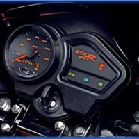 TVS Star Sport Speedometer View
