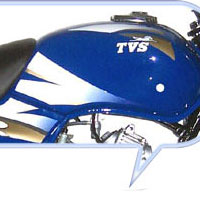 TVS Star  Oil Tank View