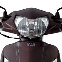 TVS Wego Head Light View