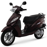 TVS Wego Left View