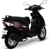 TVS Wego Rear Cross Side View