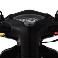 TVS Wego speedometer view Picture