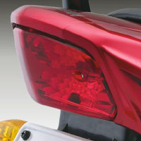 Yamaha ALBA Alloy Back Light View