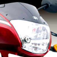 Yamaha ALBA Alloy Head Light View
