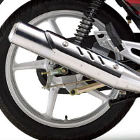Yamaha ALBA Alloy Silencer View