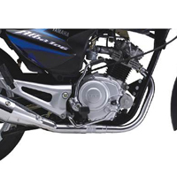 Yamaha ALBA Spoke Engine View