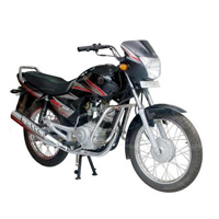 Yamaha ALBA Spoke Front Cross Side View