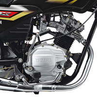 Yamaha Crux engine view Picture