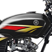 Yamaha Crux oil tank view Picture
