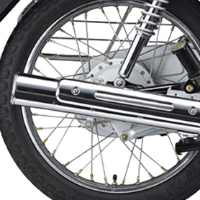 Yamaha Crux Silencer View