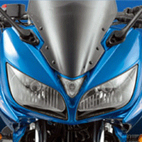 Yamaha Fazer  Head Light View