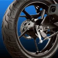 Yamaha Fazer  Wheel Base view Picture