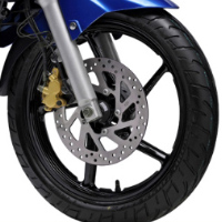 Yamaha Fazer  wheels and tyre view Picture