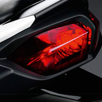 Yamaha FZ 1 Back Light View