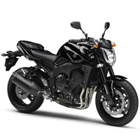 Yamaha FZ 1 Front Cross Side View
