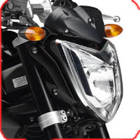 Yamaha FZ 1 Head Light View
