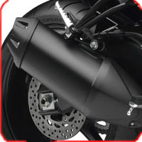Yamaha FZ 1 Silencer View