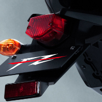 Yamaha FZ16 Back Light View