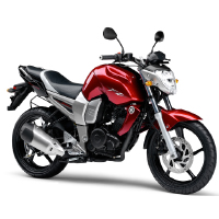 Yamaha FZ16 Different Colour View 3