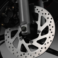 Yamaha FZ16 Disk Brake View