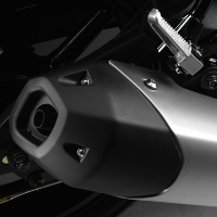 Yamaha FZ16 Silencer View