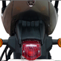 Yamaha FZS Back Light View