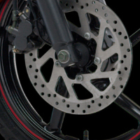 Yamaha FZS disk brake view Picture