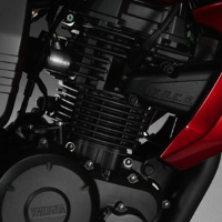 Yamaha FZS engine view Picture