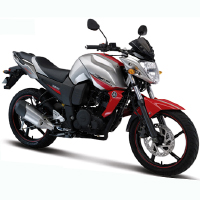 Yamaha FZS Front Cross Side View'