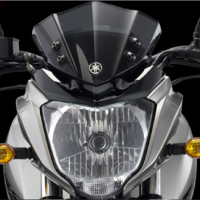 Yamaha FZS Head Light View