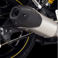 Yamaha FZS Silencer View