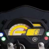 Yamaha FZS speedometer view Picture