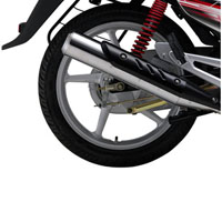 Yamaha G5 Spoke Silencer View