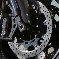 Yamaha MT01 disk brake view Picture