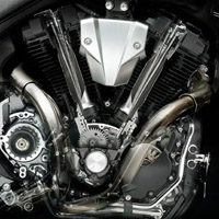 Yamaha MT01 engine view Picture