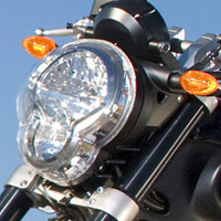 Yamaha MT01 Head Light View