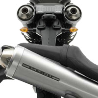 Yamaha MT01 Silencer View