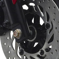 Yamaha SZ R disk brake view Picture