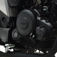 Yamaha SZ R engine view Picture
