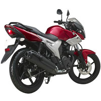 Yamaha SZ R Rear Cross Side View